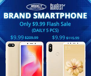 Gearbest $9.9 smartphone