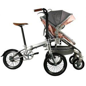 Alfawise Parent-child Folding Bicycle