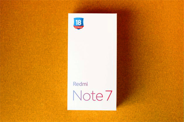 Redmi Note 7 box