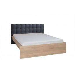 ensemble pour chambre a coucher maxim lit adulte deux places 160x200 cm tiroir sommier deux chevets commode