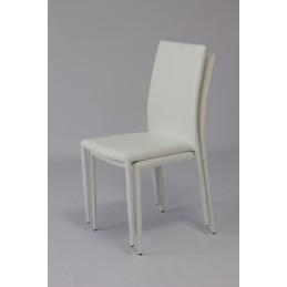 chaise noah design existe en trois couleurs noire blanche et grise lot de 6
