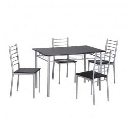 ensemble table et chaises de salle a