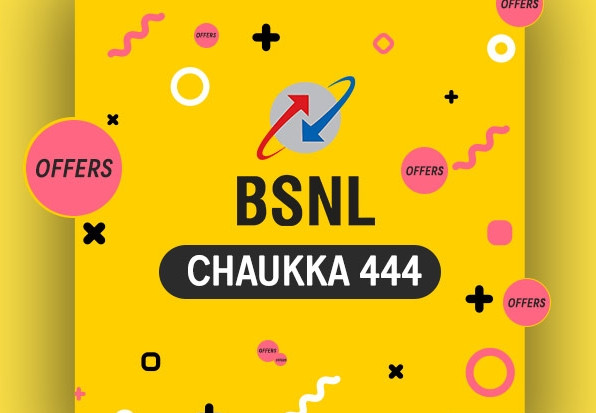 BSNL Chauka 444 Plan Launched: Get 4GB Data Per Day For 90 Days