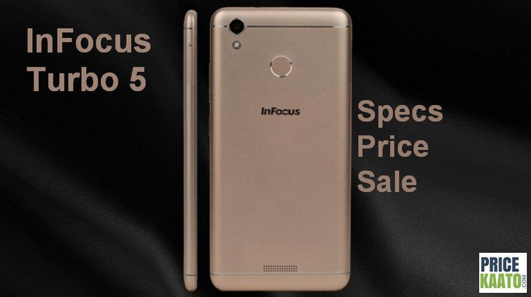 InFocus Turbo 5 Price In India
