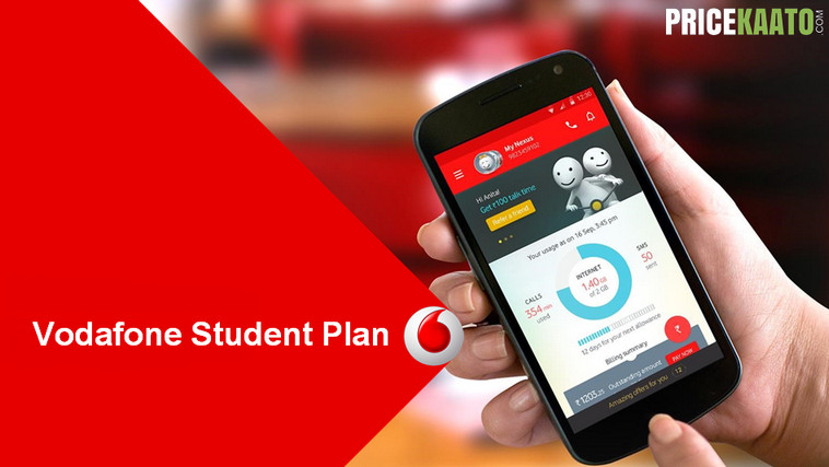 Vodafone Student Plan 352 Rs