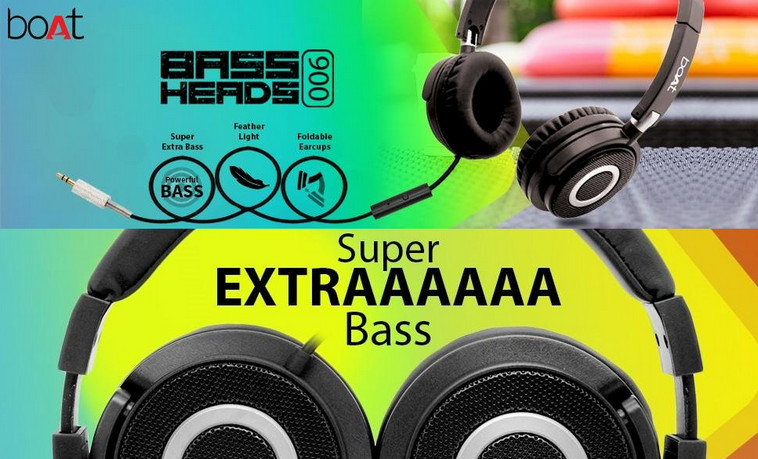 Boat BassHeads 900 Wired Headphone With Mic At Rs 699 On Amazon [MRP Rs 2,490]