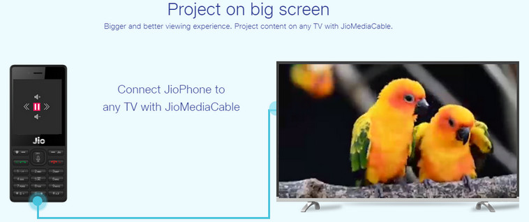 Jio Media Cable Let's You Connect Your Jio Phone With Any Television