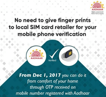 Link Aadhaar With Mobile Number Via OTP, App & IVRS