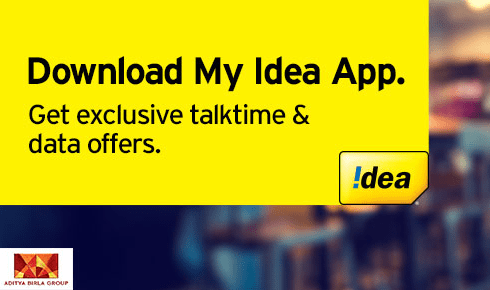 My Idea App Offer PostPaid Users 512MB Free Data