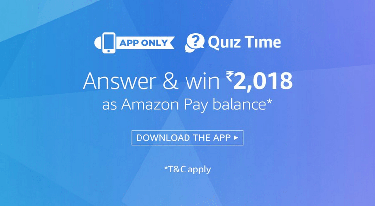 Amazon Super Value Day Quiz Answers