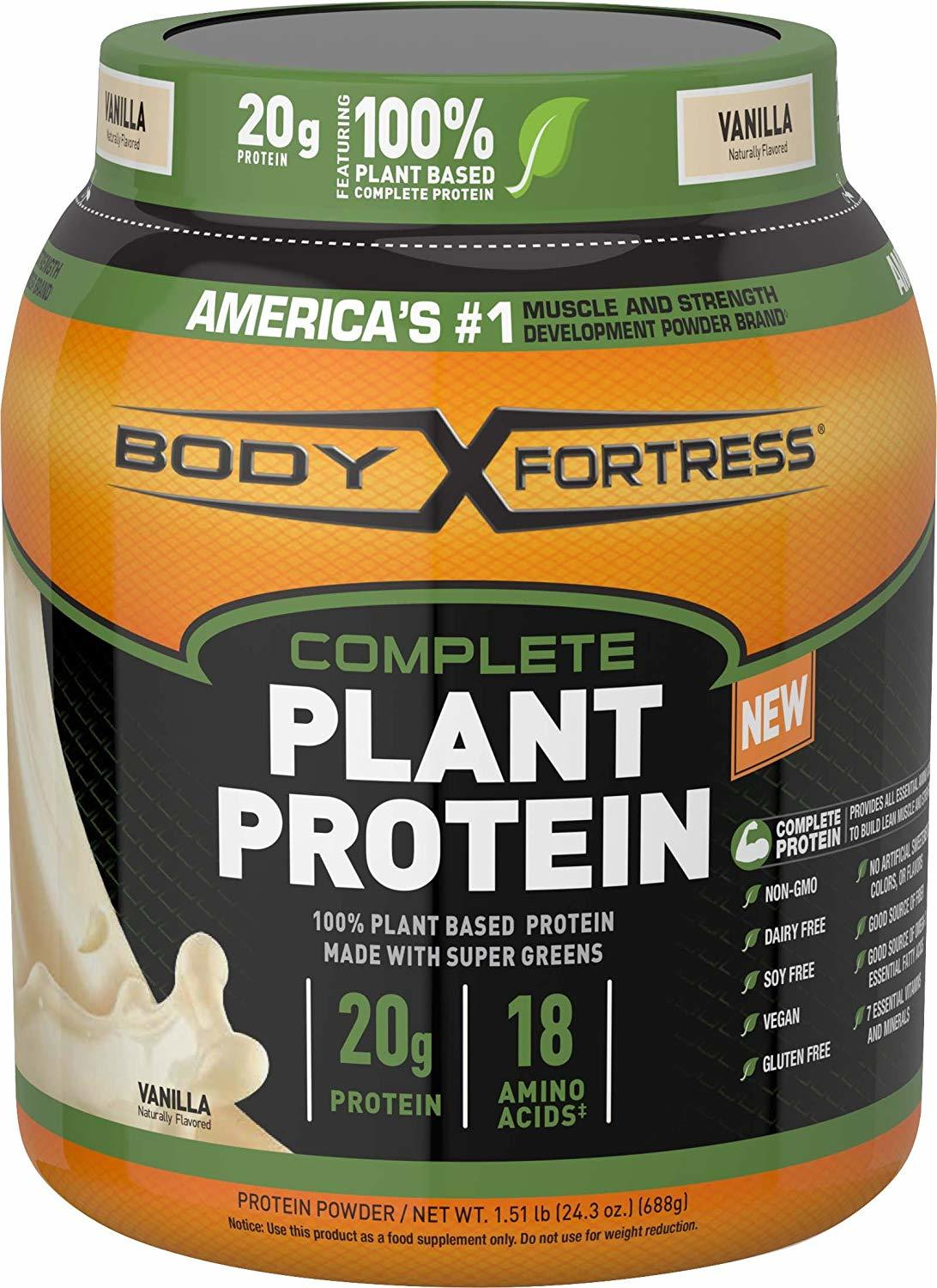 Protein Fortress Powder Body Review
