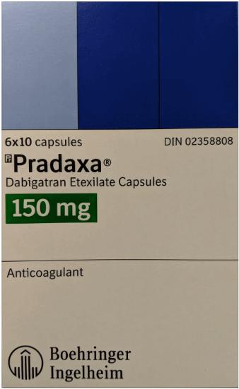 Pradaxa pain medication
