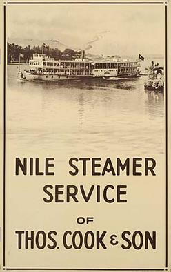 Poster Travel Nile Steamer Service Of Thos Cook Amp Son Allen David 39 Inch