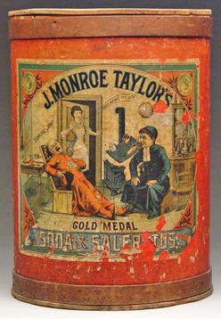 Store Bin Gold Medal Soda Amp Saleratus Canister Cardboard 19 Inch
