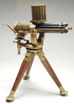 Artillery Gatling Gun Furr D Miniature Working Model 22LR Caliber