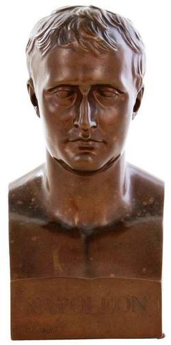 Bronze Sculpture Chaudet Antoine Denis After Bust Of