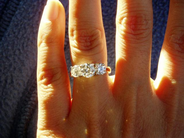 Your Cool Engagement Ring 3 Stone Engagement Rings Costco