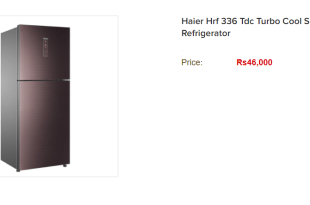 Haier Hrf 336tdc Price In Pakistan 2019, Refrigerator Features, Specifications