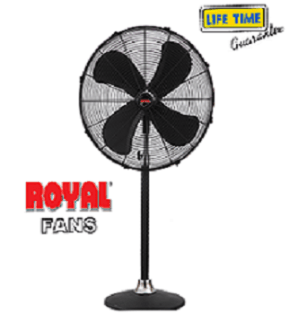 Royal pedestal fan