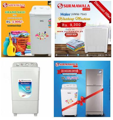 Surmawala Washing Machine Price In Pakistan