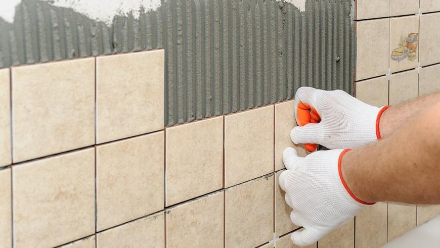 the cost to install wall tiles