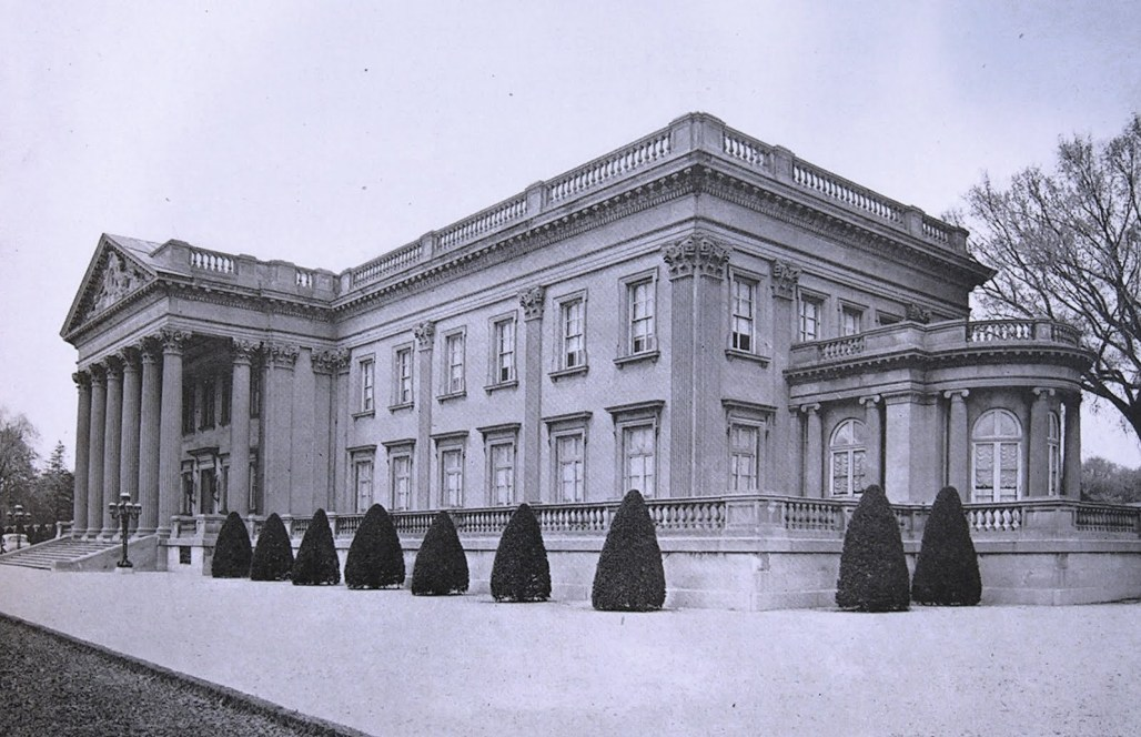 The Widener family mansion, Lynnewood Hall.