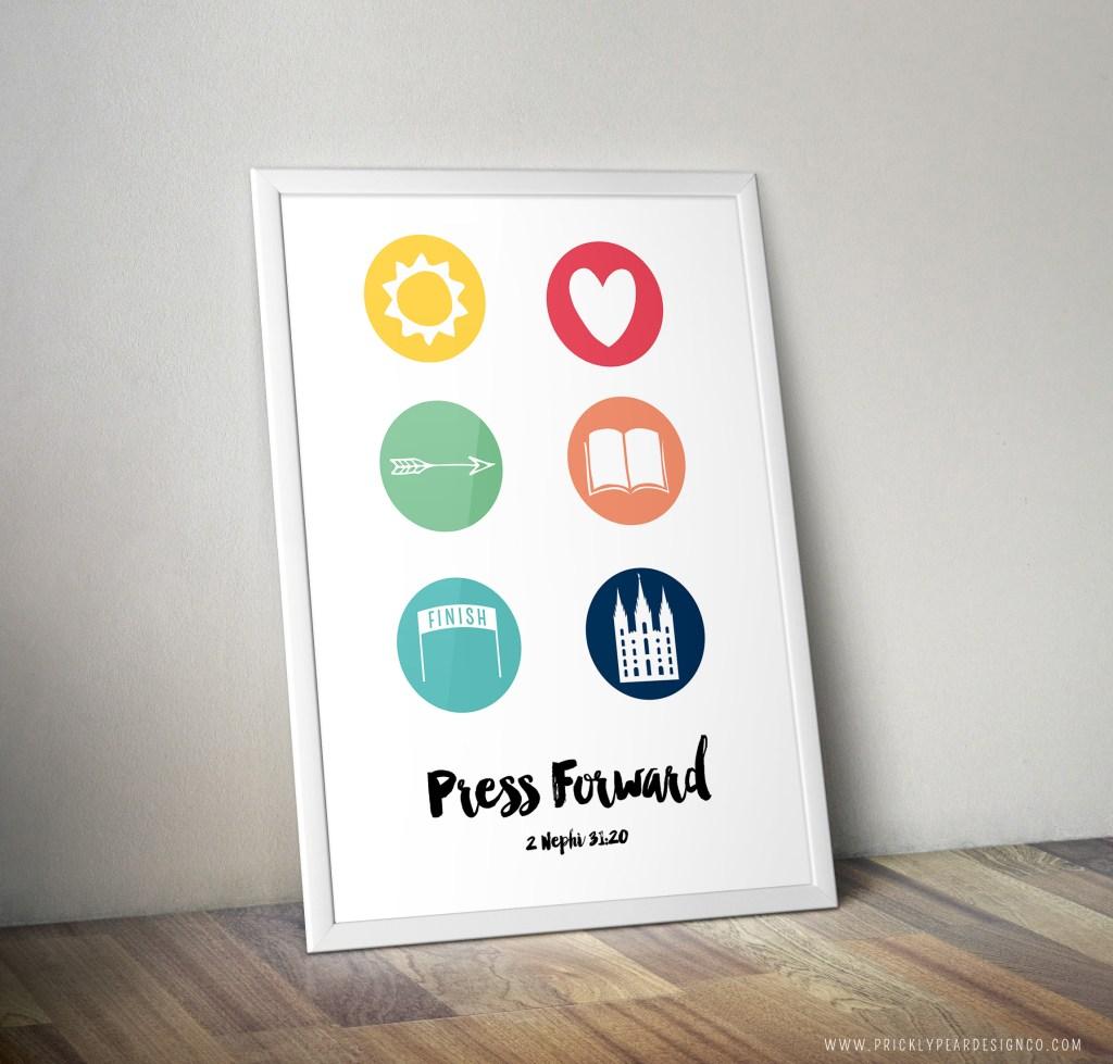 YW 2016 Mutal Theme Printable | Prickly Pear Design Co.