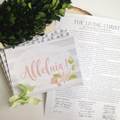 The Living Christ Study Journal & Art Prints – FREE PRINTABLES