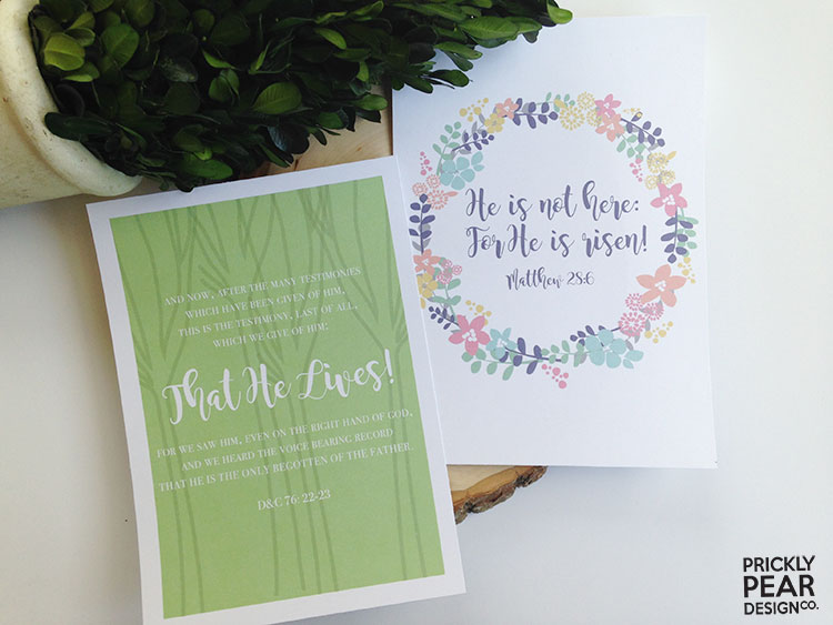 The Living Christ Study Journal | LDS | Young Women | Relief Society | Easter Study Guide | Prickly Pear Design Co.