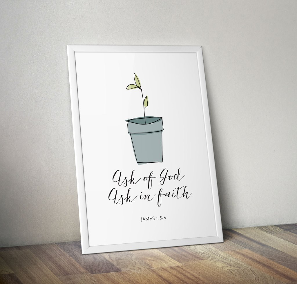 blue-pot-seedling-poster-frame-promo-