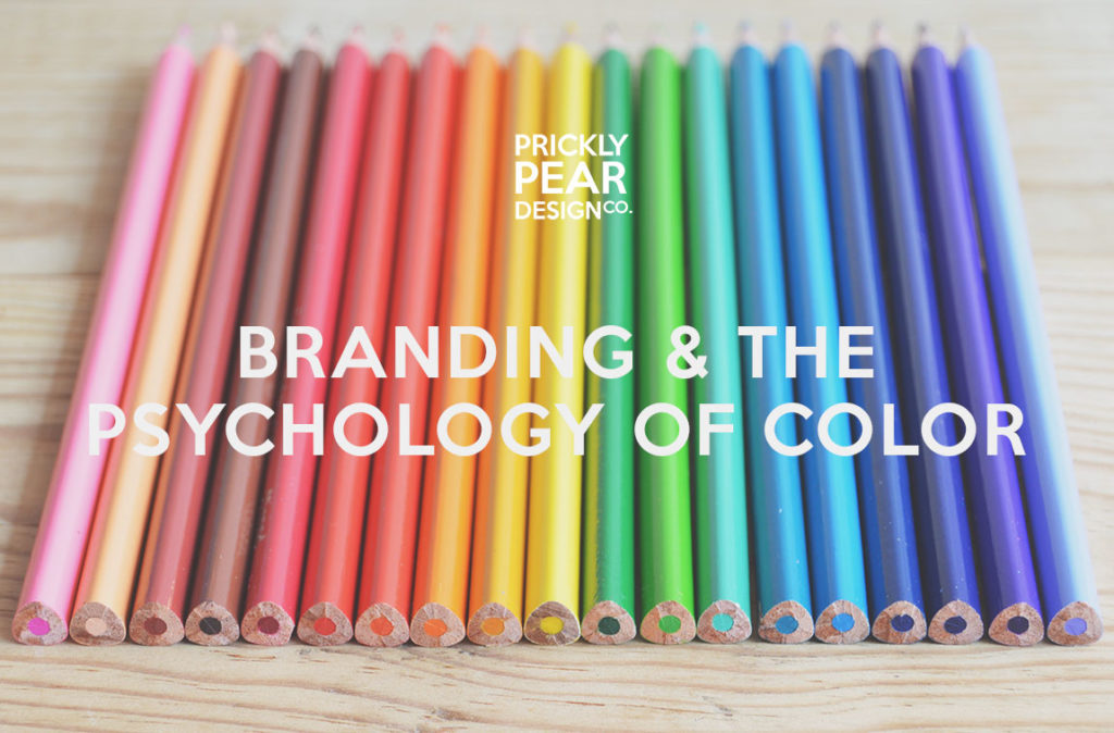 Branding & the Psychology of Color | How to Use Color Like a Marketing Pro | Prickly Pear Design Co.
