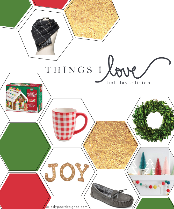 Things I Love - Holiday Edition | Simple Products & Stylish Finds to Make Your Holiday Merry & Bright | Prickly Pear Design Co.