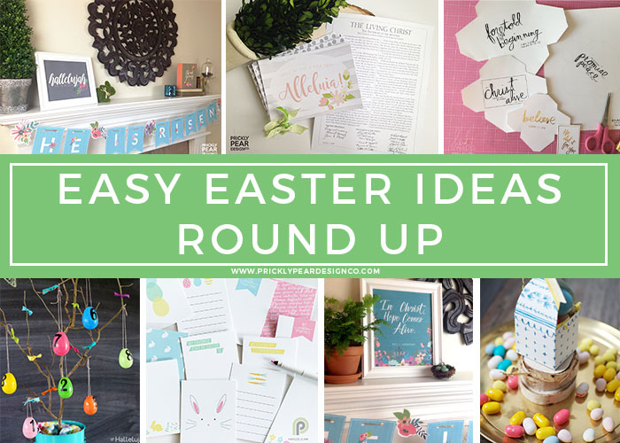 Easy Easter Ideas | Make Easter Meaningful | Easter Celebration Ideas for Families | Prickly Pear Design Co.
