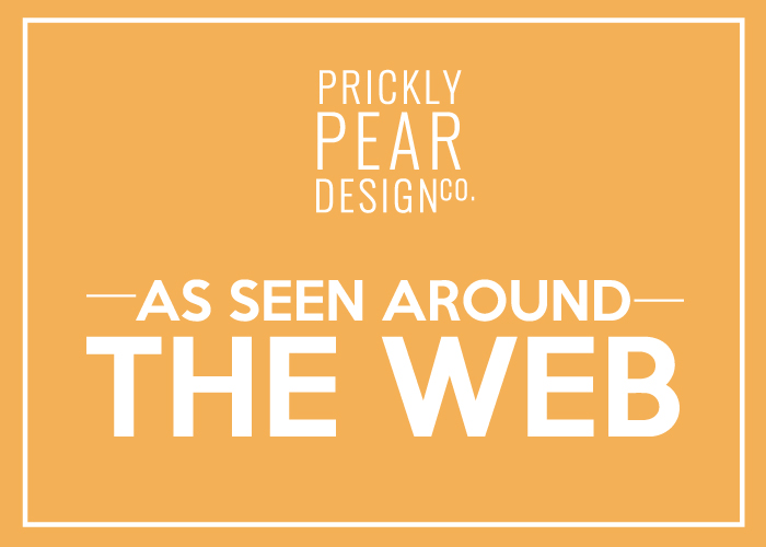 Prickly Pear Design Co. As Seen Around the Web | Great Freebies from Prickly Pear on my Favorite Blogs