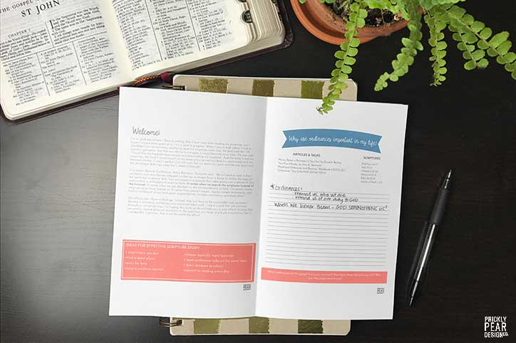 LDS Young Women Come Follow Me Study Guide | July - Ordinances & Covenants | FREE LDS Printable