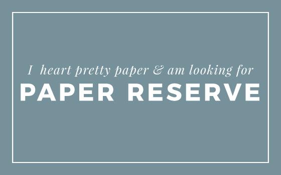 Paper Reserve