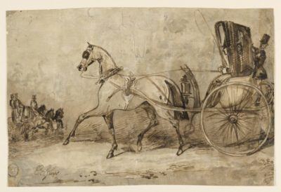 regency era horse carriage