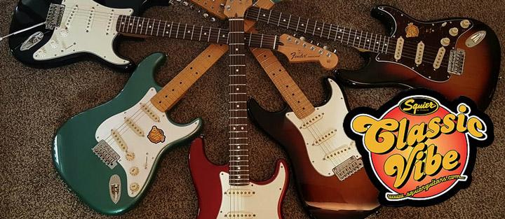 Fender Squier Classic Vibe Series