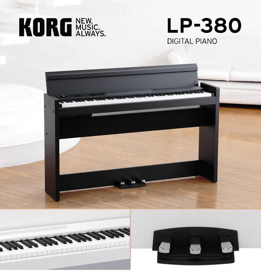 Pianos Digitais Korg LP-380