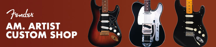 Guitarras Fender Am. Artist Signature Custom Shop