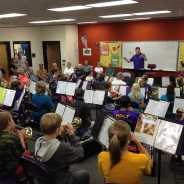 Grandparents' Day with 6th Grade Band
