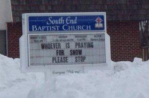 churchsnowsign