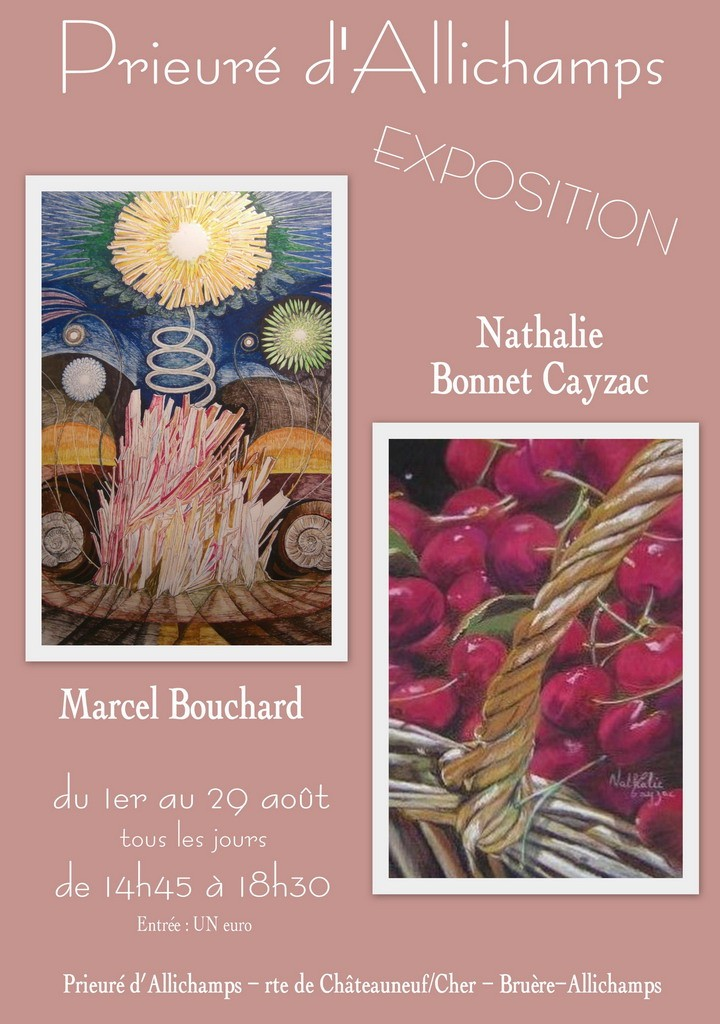 Affiche Expo Bouchard Cayzac 1