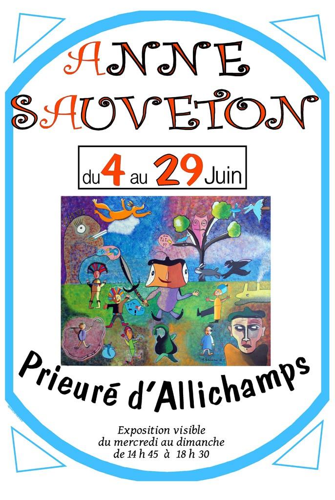 Affiche Anne Sauveton