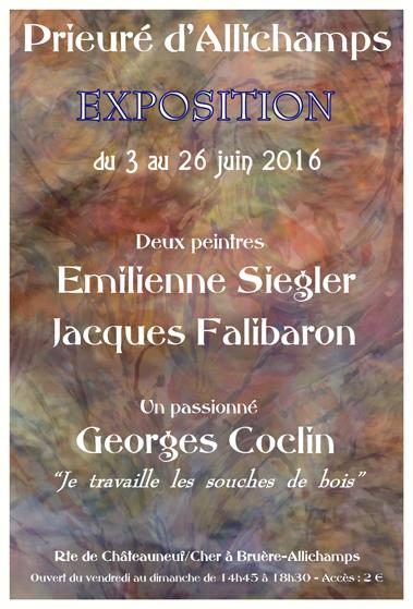 Saison 2016 – Emilienne Siegler, Jacques Falibaron, Georges Coclin