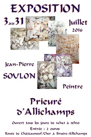 Saison 2016 – L'univers pictural de Jean-Pierre Soulon