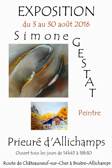 Saison 2016 – Simone Gestat, peintre