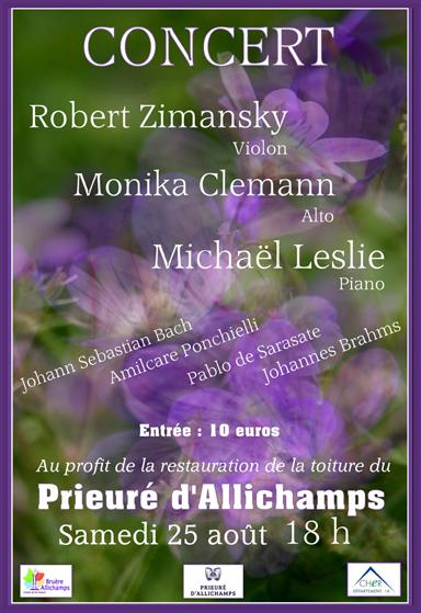 Saison 2018 – Concert classique du 25 août