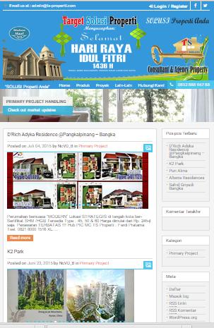 Website TS Properti