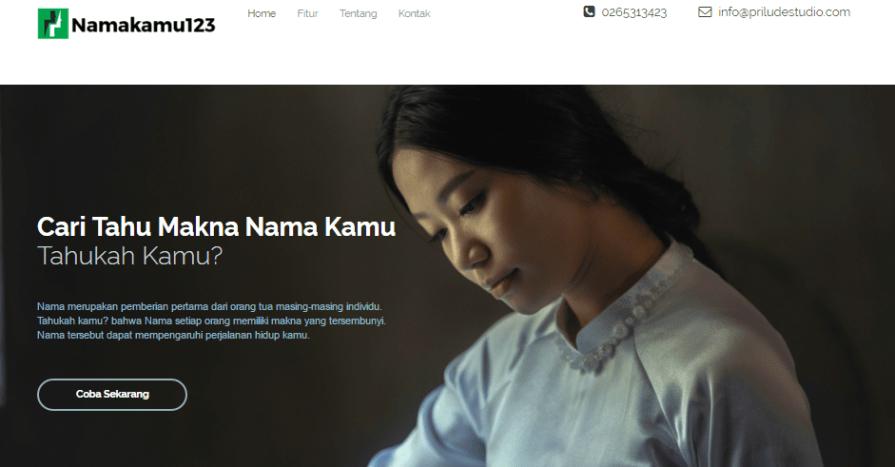 Website Peramalan